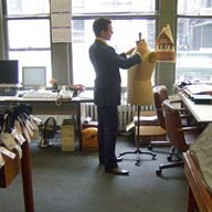 custom fitting session with new york's best custom tailors