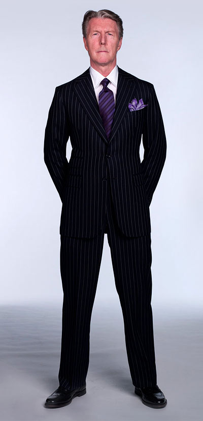 hand made custom suit style