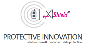 X Shield logo